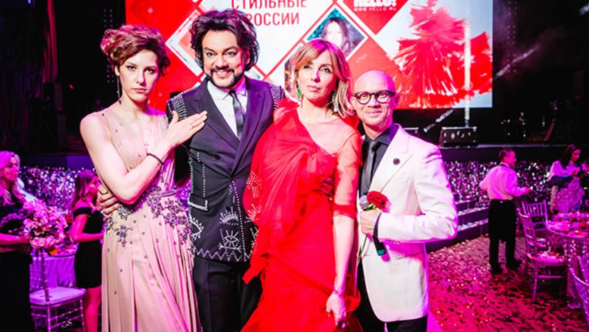 """Foto: Cele mai stilate vedete din Rusia în viziunea revistei """"Hello"""""""