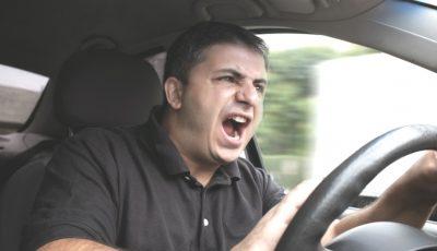 Șoferii care vor avea un comportament agresiv în trafic riscă amenzi de până la 3750 de lei