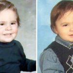 Foto: Poze! Copii care seamănă leit cu părinții lor, în copilărie