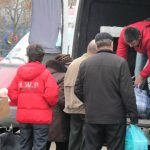 Foto: Un microbuz plin cu colete de peste hotare a fost furat!