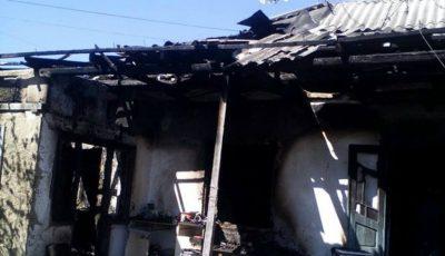 Incendiu în raionul Glodeni! Un copil de un an şi mama acestuia au decedat