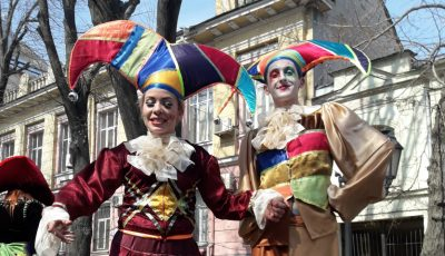 FOTO Descoperă magia Carnavalul Umorului din Odessa, 2017. Reporterul Unica împarte impresii și imagini