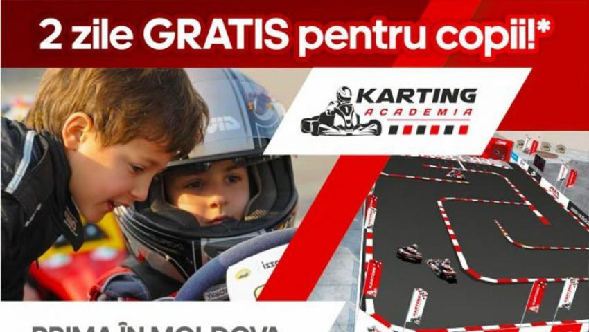 Foto: În ajun de Paşte se deschide prima Academie de Karting din Moldova