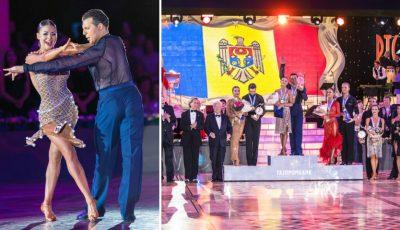 Moldova a câștigat medalia de aur la Campionatul European de Dans Latin!
