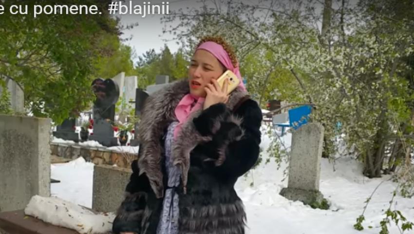O vloggeriță de la noi a parodiat Paștele Blajinilor! Video