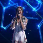 """Foto: Video! Iuliana Beregoi a interpretat o piesă în limba română la ,,Golos Deti"""" din Rusia"""