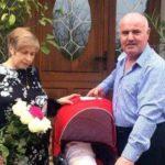 Foto: La 52 de ani, mama unui tânăr mort în Colectiv a născut o fetiță