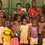 Foto: O femeie din Uganda are 38 de copii la vârsta de 37 de ani!