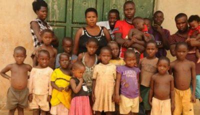 O femeie din Uganda are 38 de copii la vârsta de 37 de ani!
