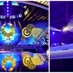 Foto: Cum arată scena de la Kiev, unde se va desfășura concursul Eurovision 2017!