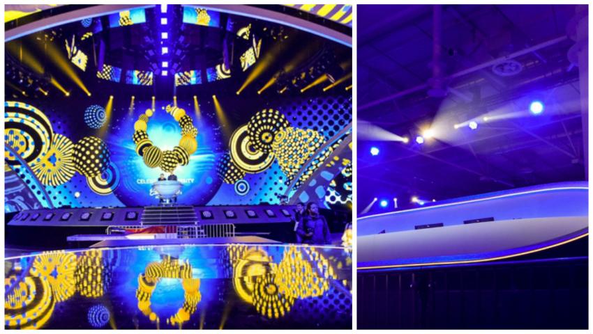 Cum arată scena de la Kiev, unde se va desfășura concursul Eurovision 2017!