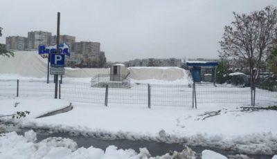 S-a prăbușit acoperișul patinoarului din Chișinău!
