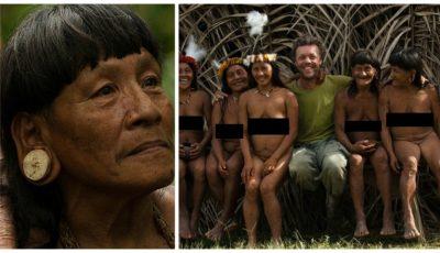 Un fotograf a surprins băștinașii din pădurile Amazonului. Pozele au șocat internauții