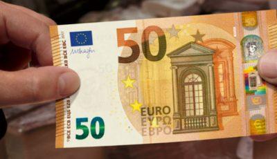 De astăzi, este introdusă în circulaţie noua bancnotă de 50 de euro. Cum arată?