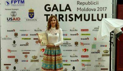 Orheianca a obținut premiul pentru Cea mai bună sursă media de promovare a turismului din Moldova!