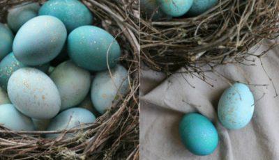 Vopsele ecologice magice pentru ouăle de Paști