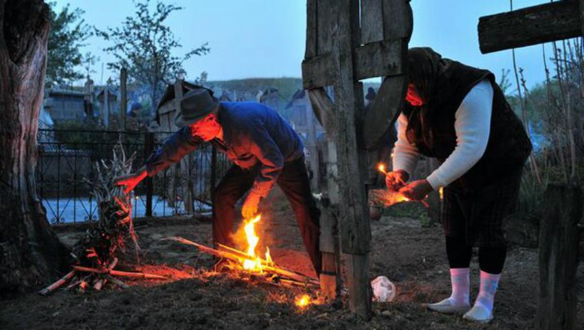 Foto: Tradiții populare în Săptămâna Mare