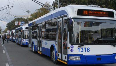 Transportul public din Capitală va avea program special de Paști