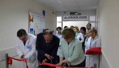O secție din cadrul Institutului Mamei și Copilului, complet renovată grație ajutorului oferit de către Guvernul României!