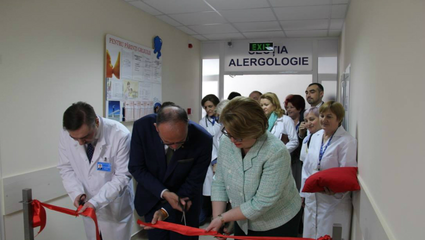 Foto: O secție din cadrul Institutului Mamei și Copilului, complet renovată grație ajutorului oferit de către Guvernul României!