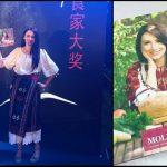 """Foto: Cartea de bucate a Natei Albot a fost premiată în cadrul ceremoniei de decernare a premiilor """"Gourmand World Cookbook Awards"""" din China!"""