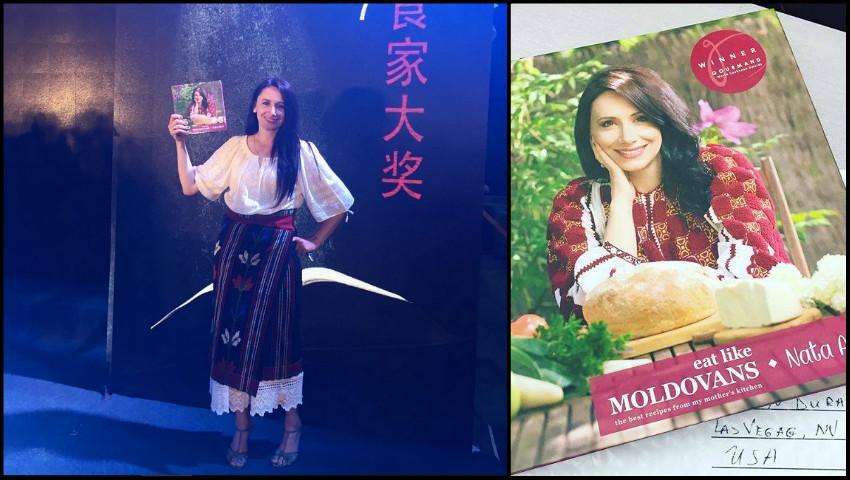 """Cartea de bucate a Natei Albot a fost premiată în cadrul ceremoniei de decernare a premiilor """"Gourmand World Cookbook Awards"""" din China!"""