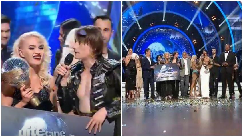 """Foto: Olesea Nespeac și Marius Manole au câștigat competiția """"Uite cine dansează!"""""""