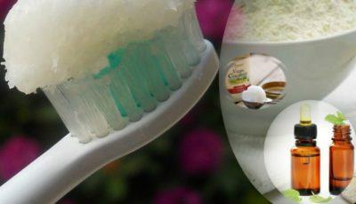 Uleiul de cocos mai eficient decât orice pastă de dinți. Tratează cariile și întărește structura dinților
