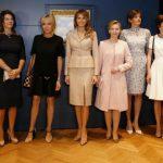 Foto: Ce a făcut Melania Trump în timp ce soţul ei purta discuții cu liderii lumii?
