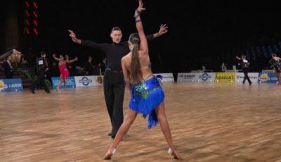 Moldova a cucerit medalia de aur la Campionatul European de Dans Sportiv, categoria Tineret! Vezi video