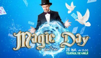 Vino împreună cu toată familia la Magic Day, cel mai colorat și vesel eveniment al primăverii!