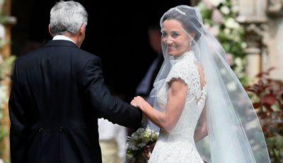 Primele poze de la nunta Pippei Middleton! Cum arată rochia de mireasă?