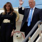 Foto: Melania Trump, în atenția presei pentru ținuta sa din timpul vizitei oficiale în Arabia Saudită!