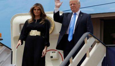 Melania Trump, în atenția presei pentru ținuta sa din timpul vizitei oficiale în Arabia Saudită!