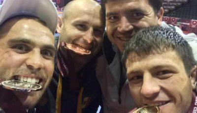 Aur pentru Moldova la Campionatul European de Lupte! Iată cu ce medalii s-au mai întors acasă sportivii noştri