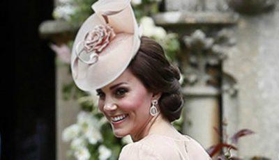 Ce ţinută a purtat Kate Middleton la nunta surorii sale!