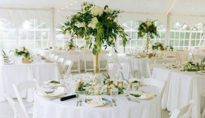 Top 5 combinații de culori cu verde pentru decorul de nuntă vara