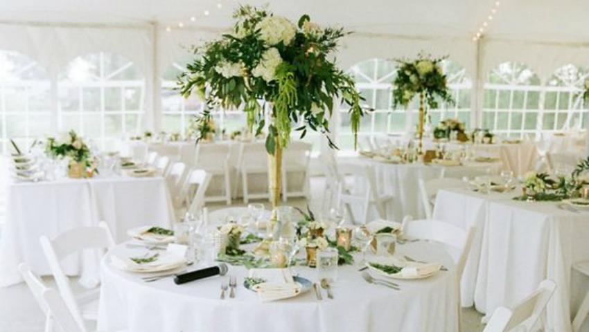 Foto: Top 5 combinații de culori cu verde pentru decorul de nuntă vara