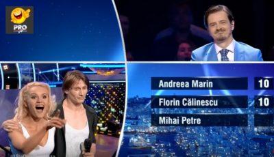 """Olesea Nespeac și Marius Manole au mers în finala """"Uite cine dansează"""" cu 3 note de 10!"""