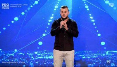 """Scandal de proporții! Moldoveanul Maxim Prepeliță a fost scos din concursul Românii au Talent, deşi luase 4 de """"DA"""" la preselecţie"""