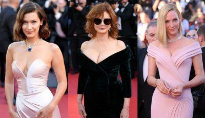 În ce ținute au apărut vedetele pe covorul roșu de la Festivalul de film de la Cannes 2017