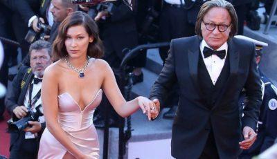 Bella Hadid, cu chiloții la vedere pe covorul roșu de la Cannes