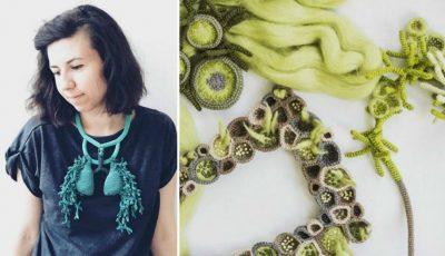 """Lidia Puică creează bijuterii inspirate din natură. Vezi cu ce vine la Festivalul """"Mai Dulce""""!"""