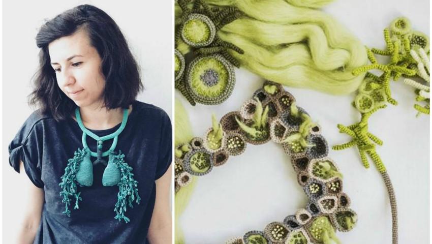 """Foto: Lidia Puică creează bijuterii inspirate din natură. Vezi cu ce vine la Festivalul """"Mai Dulce""""!"""
