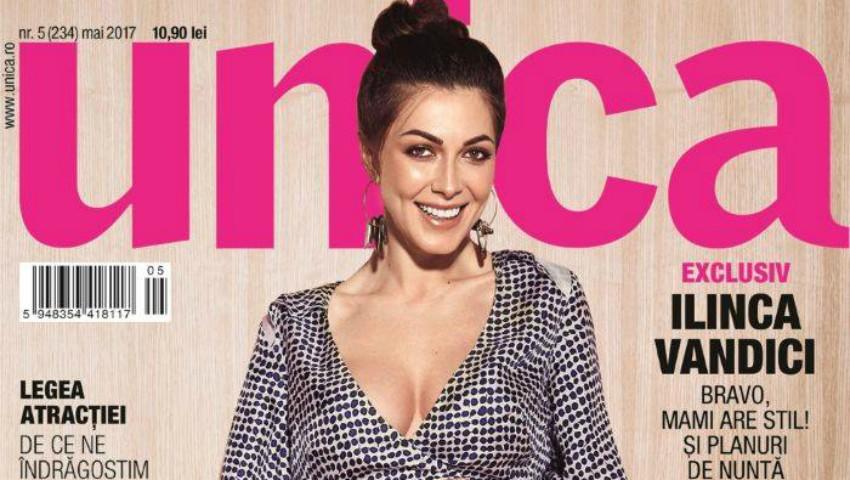 Foto: Ținuta unui brand autohton, pe coperta unei reviste din România!