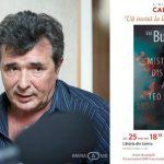 """Foto: Val Butnaru lansează romanul """"Misterioasa dispariție a lui Teo Neamțu"""""""