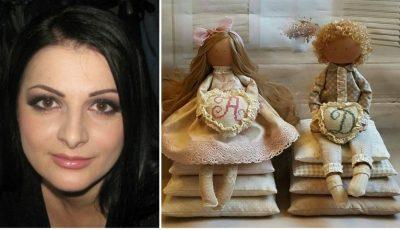 Veronica Caldîba, avocata care confecționează păpuși!