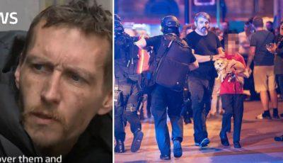 S-au strâns peste 25.000 de lire sterline pentru omul străzii care a devenit erou în urma atacului din Manchester