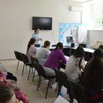 """Foto: Galina Tomaș a susținut seminarul """"Să abordăm obezitatea împreună"""" la Institutul Mamei și Copilului"""