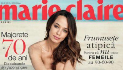 Andreea Raicu a pozat nud. Cum arată corpul ei fără photoshop